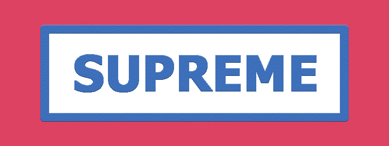 Серия Supreme
